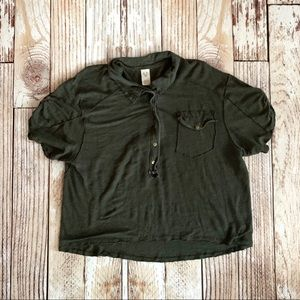 We the Free by Free People Button Down XS